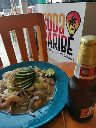 Aguachile + Cerveza