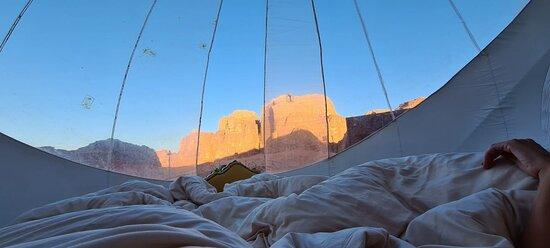 Foto de Starry Night Wadi Rum Experience, Wadi Rum Village: Sleeping under the stars - Tripadvisor