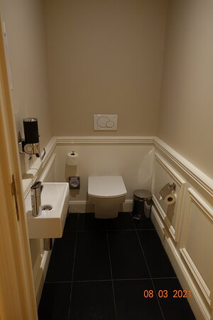 Superior Suite - separate toilet room adjacent to the living room