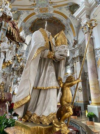 Einer der 14 Heiligen, der damals geköpft wurde