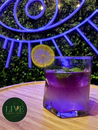 Purple Rain Mojito