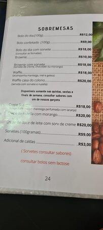 Cafeteria Casa do Colono