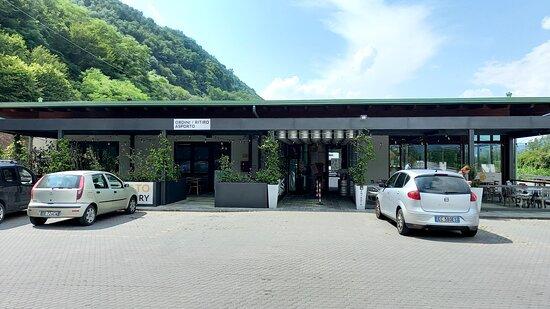Coreglia Antelminelli, Italia: ingresso