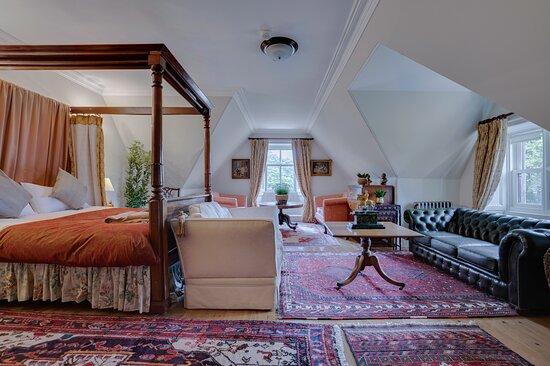 Tower master bedroom