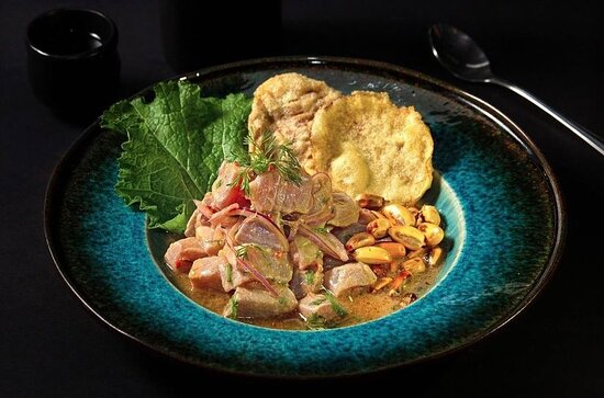 Ask for the Nikkei-Style Ceviche. This is an excellent choice to try our fresh tuna. 🤩 One of our Best Sellers!