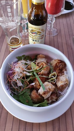 Salade nems bun