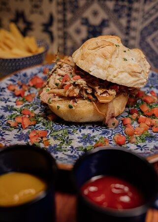 Sanduiche de Leitão