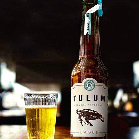 Refréscate con una cerveza Tulum