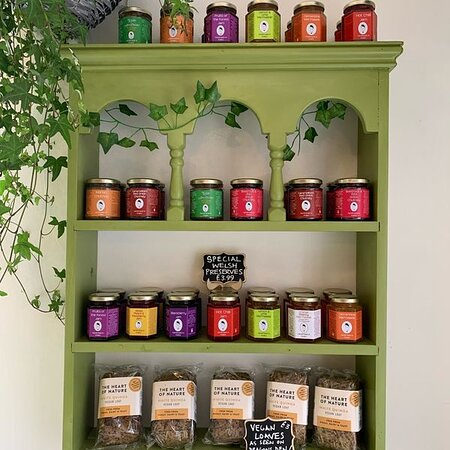 We sell Welsh Jams and they are unique and different (try Chilli Jam, Scotch Bonnet (hotter), Naga chillis (hotter yet!), Tomato and chilli chutney, Caramelised red onion, Pear and apple chutney and orange and chocolate marmalade - OMG all so GOOD! And lots more!