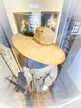 Mission San Luis Rey Museum Admission: One of only 2 original friar's hats still in existence