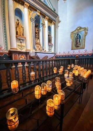 Mission San Luis Rey Museum Admission: Side altar
