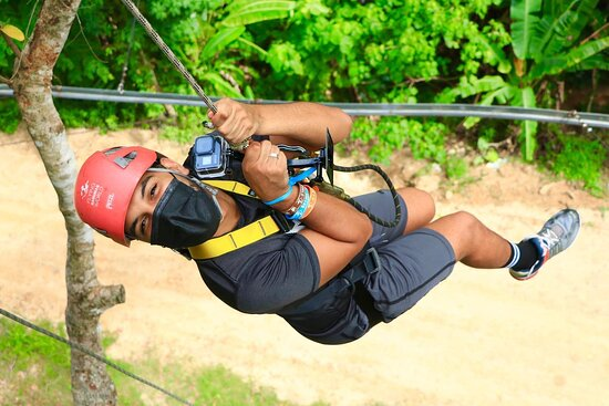 Hanuman World Zipline & Skywalk Phuket: Zipline