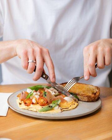 Prosciutto Omelette
