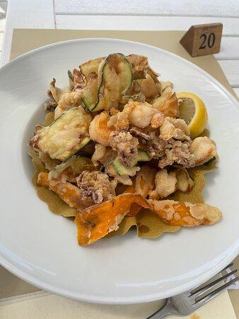 fritto misto (con verdure)