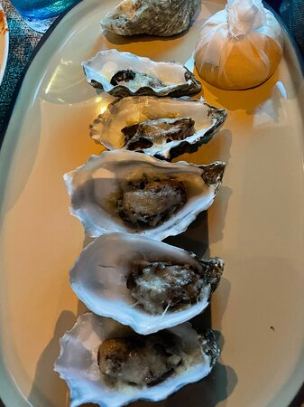 Oysters were worth the wait!