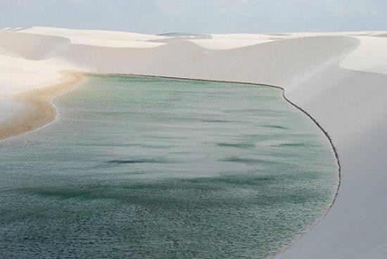 Lencois Maranhenses National Park, MA: Uno dei luoghi piu' belli mai visti!! Brasile