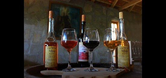 Makhinjauri, Georgia: wine muskat rose, saferavi and rkawiteli