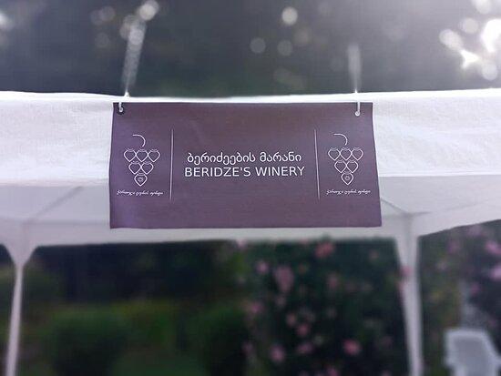 Makhinjauri, Georgia: beridze wine hause