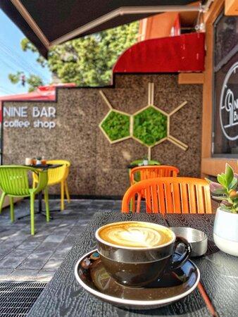 Fresh roasted single-origin coffee in a small yet cozy location