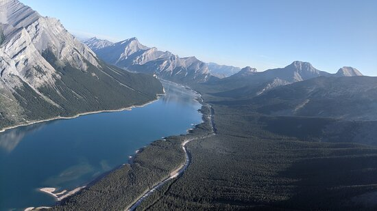 above the Rockies in Banff