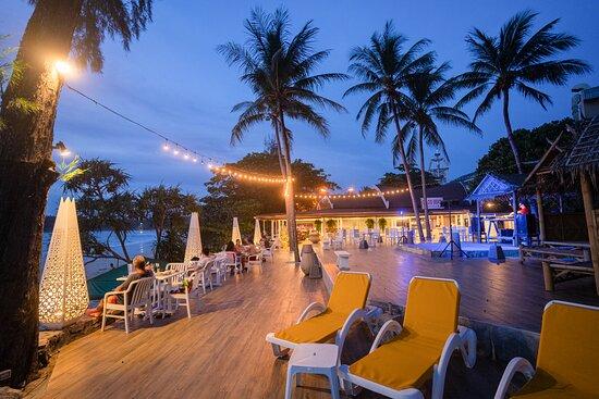 Our restaurant is right on the beach - Kata beach Phuket Thailand
