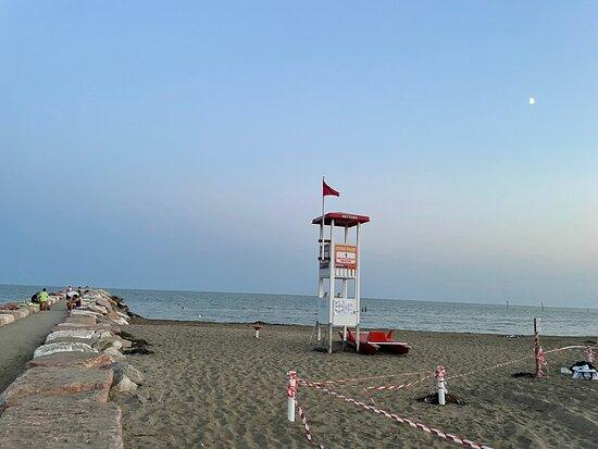 Strand am Eraclea Mare