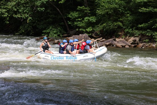 Cherokee Rafting on the Ocoee River.