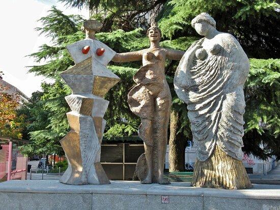 Il gruppo scultoreo