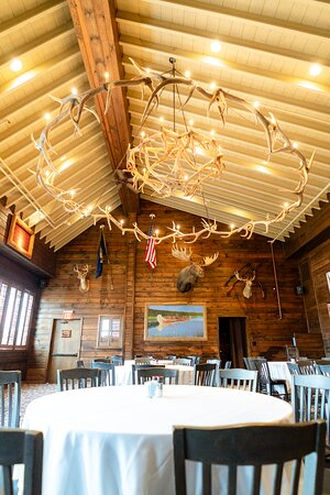 Camp Ticonderoga can host private events in its upstairs event space.