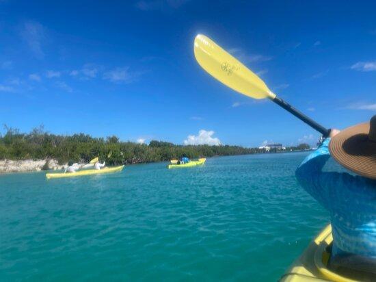 Turks-och Caicos: Kayaking with DeAndre