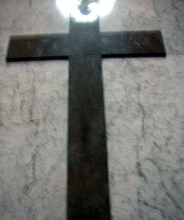 Das kann man in der St. Ludwig Kirche sehen...