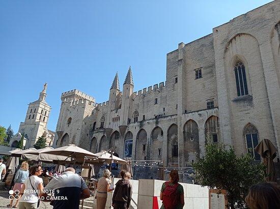 Avignon, France: Palacio de los Papas