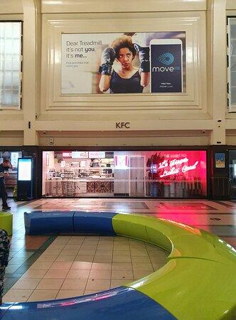 KFC in Leeds Railway Station