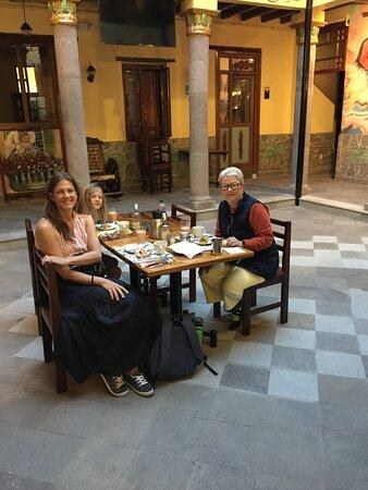 Breakfast at La Basilica