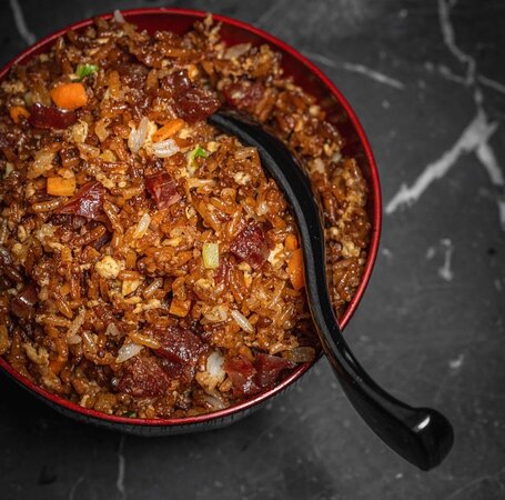 Duck Egg and Chinese Sausage Fried Rice