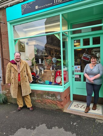 Our most recent visit from the gang at the Antiques road trip with Steven Moore.