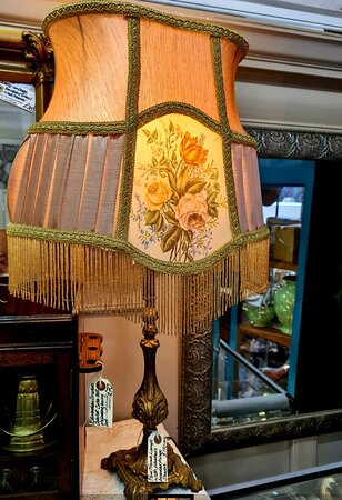 We always have a selection of gorgeous vintage lamps in stock.
