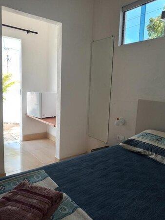 Sao Miguel do Gostoso, RN: Chale n. 7 para 4 pessoas com 1 cama casal + 1 beliche