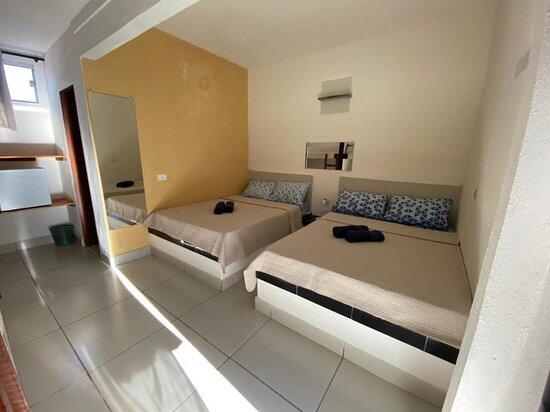 Sao Miguel do Gostoso, RN: Chale n. 8 para 8 pessoas com 2 cama casal + 2 beliche