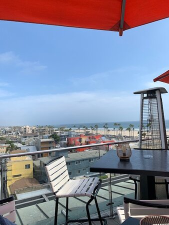 High rooftop at Hotel Erwin.
