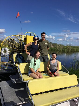 1.5 Hour Private Airboat Tour ❤️ Guests best recommendation. The 1.5 hr private Airboat Adventure covers approximately 13 miles of the Florida Everglades. This is a great adventure if you want to get a good taste of the Florida Everglades. The extra half an hour allows us to cover an additional 5 miles over the 1 hour private. The deeper you go the better allows you to see a greater variety of species. Please note that there are no animals in cages or fish tanks for any adventure we offer.