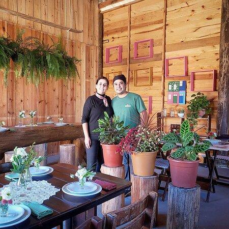 Proprietários- Chef Carlos e Chef Mariana
