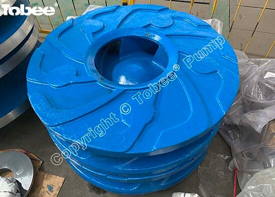 China: Tobee 16/14H-AH Slurry Pump Wear Parts Impeller H14147A05A with 5VCG-M #impeller Email: Sales7@tobeepump.com Web: www.tobeepump.com   www.slurrypumpsupply.com   www.tobee.store   www.tobee.cc
