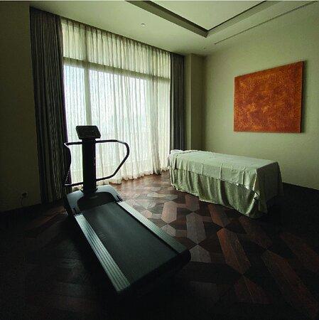 Gym and spa room