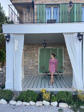 Bozcaadada arayıp bulamayacağınız harika bir otel!!