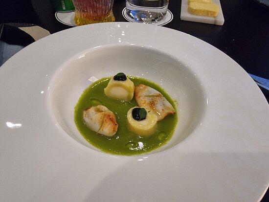 Calamari - Gnocchi - Piparras