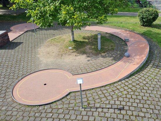 Minigolf im Neulandpark