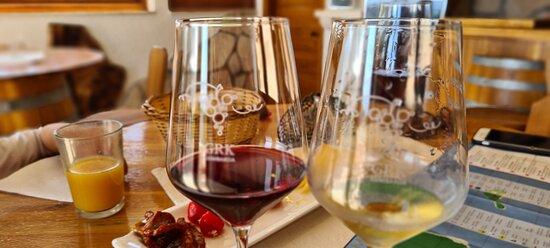 Very nice moment of wine tasting