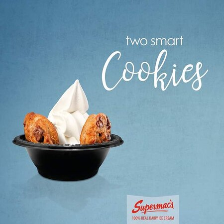 Our signature hot cookies & 100% dairy ice-cream perfectly compliment each other