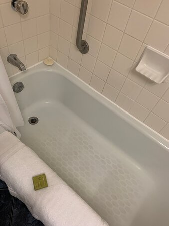 Dated, stained tub